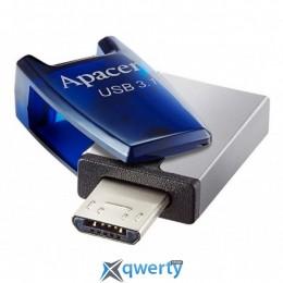 Apacer 64GB AH179 Blue USB 3.1 OTG (AP64GAH179U-1)