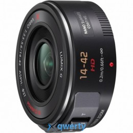 Panasonic Micro 4/3 Lens 14-42 mm F3.5-5.6 (H-PS14042E-K)