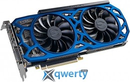 EVGA GeForce GTX 1080 Ti 11GB GDDR5X (352bit) (1556/11016) (DVI, HDMI, DisplayPort)  SC2 ELITE GAMING BLUE (11G-P4-6693-K3)