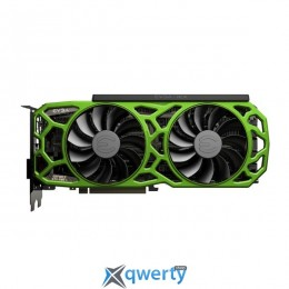 EVGA GeForce GTX 1080 Ti 11GB GDDR5X (352bit) (1556/11016) (DVI, HDMI, DisplayPort)  SC2 ELITE GAMING GREEN (11G-P4-6693-K4)