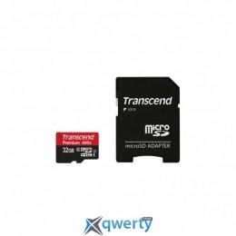 Transcend 32GB microSDHC C10 UHS-I U3 R95/W60MB/s Ultimate + SD адаптер (TS32GUSDU3M)