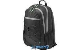 HP Active Backpack Black/Mint