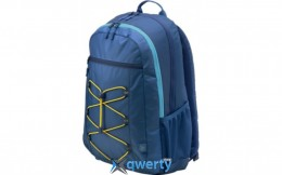 HP Active Backpack Blue/Yellow