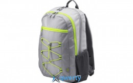 HP Active Backpack Gray/Yellow