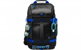 HP Odyssey Backpack Black/Blue (Y5Y50AA)