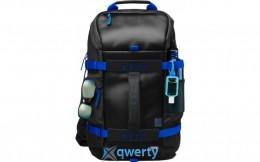 HP Odyssey Backpack Black/Blue (Y5Y50AA)