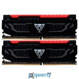 PATRIOT Viper LED Red DDR4 8GB (2x4) 3000MHz PC-24000 (PVLR48G300C5K)