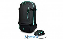 Port Designs GAMING BackPack+Mouse Green