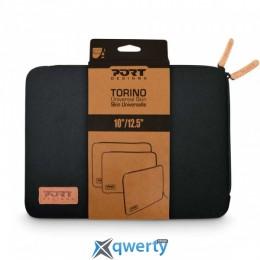 Port Designs LAPTOP CASE TORINO 10-12.5 Black