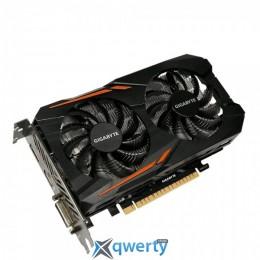 GIGABYTE GeForce GTX 1050 3GB GDDR5 (96bit) (1417/7008) (DVI, HDMI, DisplayPort) (GV-N1050OC-3GD)