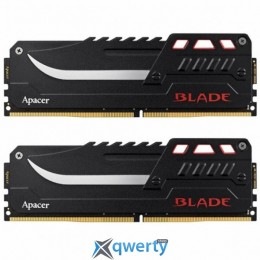 Apacer Blade Series DDR4 16GB (2x8) 3600MHz PC-28800 (EK.16GA4.GGBK2)