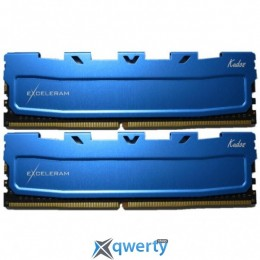 EXCELERAM Kudos Blue DDR4 2133MHz 16GB (2x8) PC-17060 (EKBLUE4162115AD)