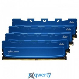 EXCELERAM Kudos Blue DDR4 2133MHz 16GB (4x4) PC-17060 (EKBLUE4162115AQ)