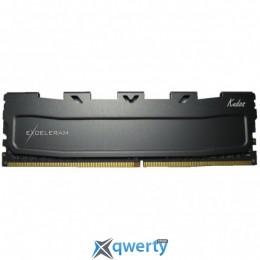 EXCELERAM Kudos DDR4 2400MHz 4GB PC-19200 (EKBLACK4042415A)