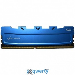EXCELERAM Kudos DDR4 2400MHz 4GB PC-19200 (EKBLUE4042416A)