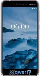 NOKIA 6.1 3/32 Dual SIM (white) TA-1043