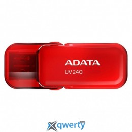 ADATA 16GB USB 2.0 UV240 Red (AUV240-16G-RRD)