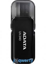 ADATA 64GB USB 2.0 UV240 Black (AUV240-64G-RBK)