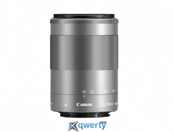 Canon EF-M 55-200mm f/4.5-6.3 IS STM Silver (1122C005)