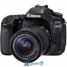 CANON EOS 80D + 18-55 IS STM (1263C038)