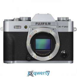 Fujifilm X-T20 + XC 16-50mm + 50-230mm Silver (16543200)