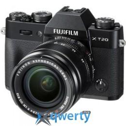 Fujifilm X-T20 + XF 18-55mm F2.8-4R Kit Black (16542816)
