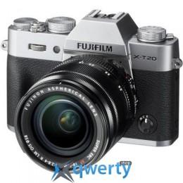 Fujifilm X-T20 XF 18-55mm F2.8-4R Kit Silver (16542684)