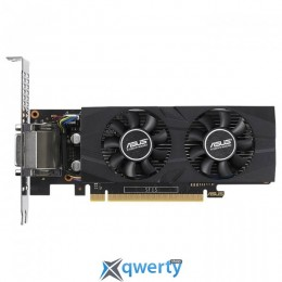 ASUS GeForce GTX 1050 Ti LP OC 4GB GDDR5 (128bit) (1303/7008) (DVI, HDMI, 3х DisplayPort) (GTX1050TI-O4G-LP-BRK)