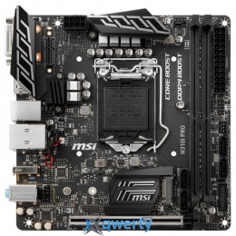 MSI H310I PRO (s1151, Intel H310)
