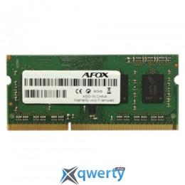 AFOX SODIMM DDR3-1600 8GB PC3-12800 (AFSD38BK1P)