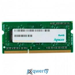 Apacer SODIMM DDR3-1600 2GB PC4-12800 (DS.02G2K.HAM)