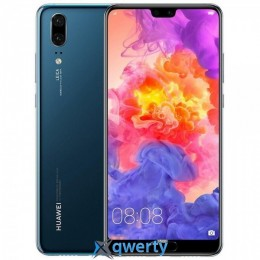 Huawei P20 4/128GB Single Sim (Midnight Blue) EU