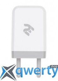 2E USB Wall Charger USB:DC5V/1A, white (2E-WC1USB1A-W)