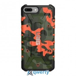 Urban Armor Gear iPhone 8/7/6S Plus (5.5 Screen) Pathfinder Camo Rust/Black (IPH8/7PLS-A-RC)