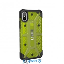 Urban Armor Gear iPhone X Plasma Citron (IPHX-L-CT)