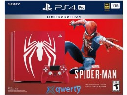 Sony PlayStation 4 Pro 1TB Red (Spider-Man) Limited Edition