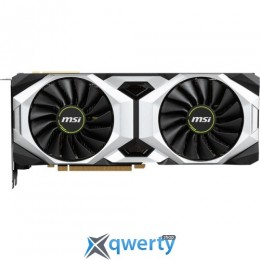 MSI GeForce RTX 2080 8GB GDDR6 (256bit) (1515/14000) (HDMI, DisplayPort, USB Type-C) (GeForce RTX 2080 VENTUS 8G OC)