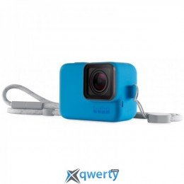 Чехол + ремешок GoPro Sleeve & Lanyard Blue (ACSST-003)