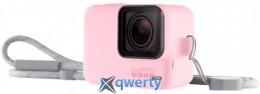 Чехол + ремешок GoPro Sleeve & Lanyard Pink (ACSST-004)