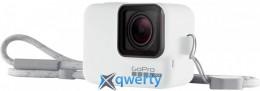 Чехол + ремешок GoPro Sleeve & Lanyard White (ACSST-002)