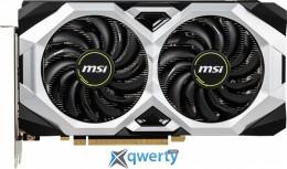 MSI PCI-Ex GeForce RTX 2060 Ventus 6G OC 6GB GDDR6 (192bit) (1710/14000) (DisplayPort, HDMI) (RTX 2060 VENTUS 6G OC)