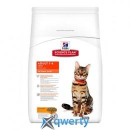 Hill's SP Fel Adult OptCare Ch-15 кг корм для взрослых кошек на основе мяса курицы