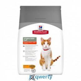 Hill's SP Fel Adult Young Sterilised Cat Ch -Доросла кішка. Стерилізована- 8 кг