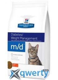 Hills PD Feline M/D-Цукр. діабет,ожиріння- 5 кг