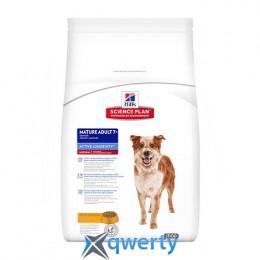 Hills SP Can MatureAdult7+ ActLongevity Ch-Зрілий собака(медіум).Активне довголіття/курка-12 кг