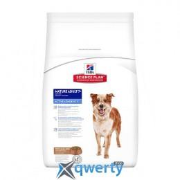 Hills SP Can MatureAdult7+ActLongevity L R-Зрілий собака(медіум).Активне довголіття/ягня та рис-12 кг
