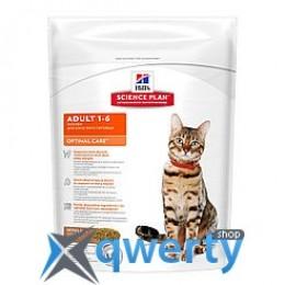 Hills SP Fel Adult OptCare Lb-Доросла кішка. Оптимальний догляд/ягня- 0,4 кг