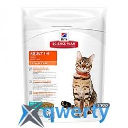 Hills SP Fel Adult OptCare Tn-Доросла кішка. Оптимальний догляд/тунець- 0,4 кг