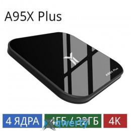 A95X Plus (4/32 Gb) 4-ядерная на Android 8.1