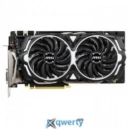 MSI PCI-Ex GeForce GTX 1060 Armor OC 6GB GDDR5X (192bit) (1544/8008) (DVI, HDMI,  DisplayPort) (GTX 1060 ARMOR 6GD5X OC)